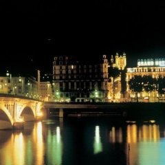 Отель Boscolo Lyon Франция, Лион - отзывы, цены и фото номеров - забронировать отель Boscolo Lyon онлайн приотельная территория фото 2