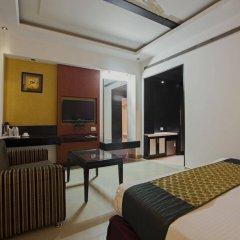 Hotel Krishna комната для гостей
