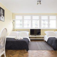 Отель Hosapartments City Center Польша, Варшава - 2 отзыва об отеле, цены и фото номеров - забронировать отель Hosapartments City Center онлайн комната для гостей фото 17