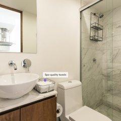 Отель Beautiful Luxury 2BR Apt. in Polanco Мехико ванная