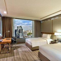 Отель Hilton Sukhumvit Bangkok Таиланд, Бангкок - отзывы, цены и фото номеров - забронировать отель Hilton Sukhumvit Bangkok онлайн комната для гостей
