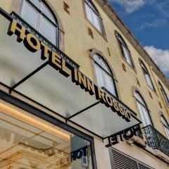 Отель Inn Rossio Лиссабон вид на фасад