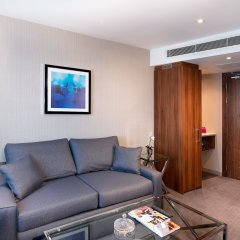 Отель Crowne Plaza London Heathrow T4 Великобритания, Лондон - отзывы, цены и фото номеров - забронировать отель Crowne Plaza London Heathrow T4 онлайн комната для гостей фото 3