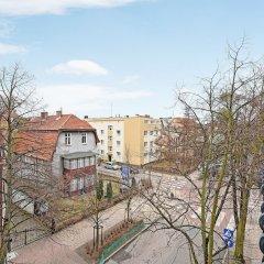 Апартаменты Dom & House - Apartment Haffnera Supreme балкон