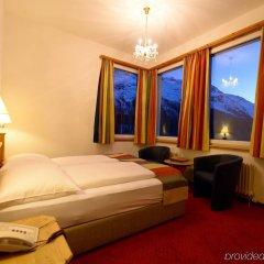 Отель Waldhaus am See Швейцария, Санкт-Мориц - отзывы, цены и фото номеров - забронировать отель Waldhaus am See онлайн комната для гостей фото 4