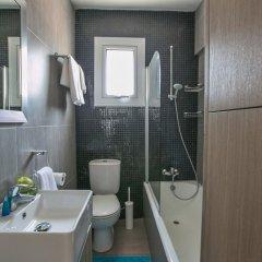 Отель Evelina Apartment Кипр, Протарас - отзывы, цены и фото номеров - забронировать отель Evelina Apartment онлайн ванная