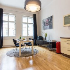 Отель Melnicka Flat Прага комната для гостей фото 5