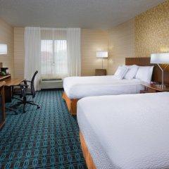 Отель Fairfield Inn & Suites by Marriott Columbus OSU США, Колумбус - отзывы, цены и фото номеров - забронировать отель Fairfield Inn & Suites by Marriott Columbus OSU онлайн комната для гостей фото 3