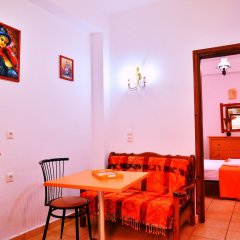 Отель Olympos Pension Родос комната для гостей фото 2