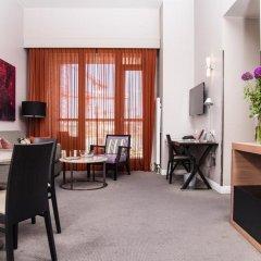 Отель Adina Apartment Hotel Berlin CheckPoint Charlie Германия, Берлин - 4 отзыва об отеле, цены и фото номеров - забронировать отель Adina Apartment Hotel Berlin CheckPoint Charlie онлайн комната для гостей фото 4