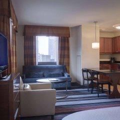 Отель Residence Inn by Marriott New York Manhattan/Times Square США, Нью-Йорк - отзывы, цены и фото номеров - забронировать отель Residence Inn by Marriott New York Manhattan/Times Square онлайн комната для гостей фото 5