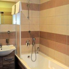 Отель Palacky Чехия, Карловы Вары - 1 отзыв об отеле, цены и фото номеров - забронировать отель Palacky онлайн ванная