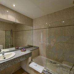 Отель Motel Cancun León ванная