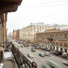 Мини-отель АЛЬТБУРГ на Литейном балкон