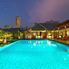 Отель Long Beach Luxury Villas бассейн