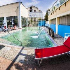 Отель Al Sole Terme Италия, Абано-Терме - отзывы, цены и фото номеров - забронировать отель Al Sole Terme онлайн бассейн фото 2