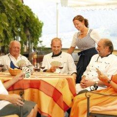 Panorama Hotel Himmelreich Кастельбелло-Циардес питание