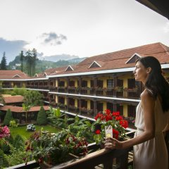 Отель Victoria Sapa Resort & Spa Шапа балкон