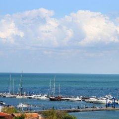 Отель Панорама Болгария, Свети Влас - отзывы, цены и фото номеров - забронировать отель Панорама онлайн пляж фото 2