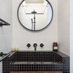 Апартаменты Cosy Studio 3min Gare Montparnasse Париж ванная