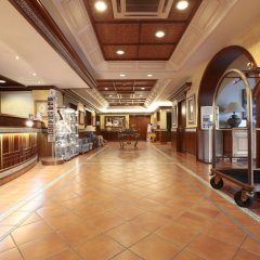 Отель Prestige Coral Platja Испания, Курорт Росес - отзывы, цены и фото номеров - забронировать отель Prestige Coral Platja онлайн интерьер отеля