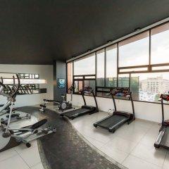Отель Baron Residence Бангкок фитнесс-зал