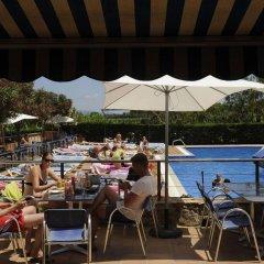 Отель Camping Del Mar Испания, Мальграт-де-Мар - отзывы, цены и фото номеров - забронировать отель Camping Del Mar онлайн пляж