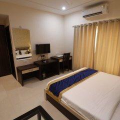 Отель Treebo Trend Blueberry Inn Индия, Райпур - отзывы, цены и фото номеров - забронировать отель Treebo Trend Blueberry Inn онлайн комната для гостей фото 2