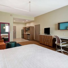 Отель Home2 Suites by Hilton Columbus Downtown США, Колумбус - отзывы, цены и фото номеров - забронировать отель Home2 Suites by Hilton Columbus Downtown онлайн удобства в номере