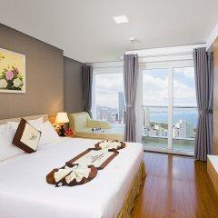 Отель Dendro Gold Нячанг комната для гостей