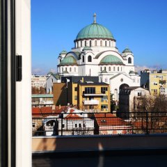Crystal Hotel Belgrade балкон