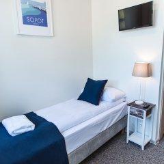Отель SeaSide Sopot Польша, Сопот - отзывы, цены и фото номеров - забронировать отель SeaSide Sopot онлайн комната для гостей фото 4