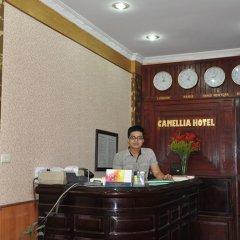 Отель Camellia 5 Hotel Вьетнам, Ханой - отзывы, цены и фото номеров - забронировать отель Camellia 5 Hotel онлайн интерьер отеля