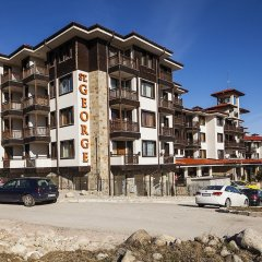 Отель St. George Ski And Holiday Банско парковка