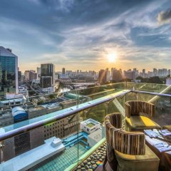 Peninsula Excelsior Hotel Сингапур балкон