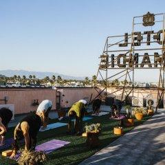 Hotel Normandie - Los Angeles фитнесс-зал