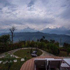 Отель Raniban Retreat Непал, Покхара - отзывы, цены и фото номеров - забронировать отель Raniban Retreat онлайн балкон