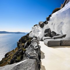Отель Villa Etheras Греция, Остров Санторини - отзывы, цены и фото номеров - забронировать отель Villa Etheras онлайн приотельная территория