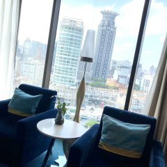 Renaissance Shanghai Yu Garden Hotel комната для гостей фото 3