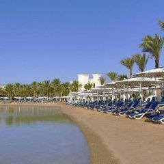 Отель Хилтон Хургада Резорт пляж фото 2
