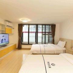 Апартаменты Tengsen Apartment Wanke Yuncheng Branch комната для гостей фото 4