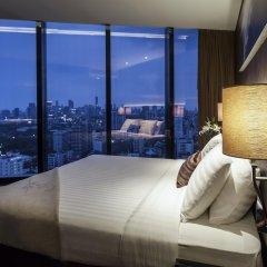 Отель The Continent Bangkok by Compass Hospitality 4* Стандартный номер с различными типами кроватей фото 19