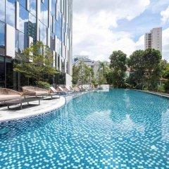 Отель Novotel Singapore on Stevens бассейн фото 2