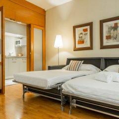 Отель Aparthotel Mariano Cubi Barcelona Испания, Барселона - 4 отзыва об отеле, цены и фото номеров - забронировать отель Aparthotel Mariano Cubi Barcelona онлайн комната для гостей фото 4