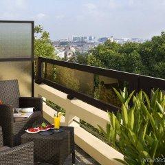 Отель Barsey by Warwick Бельгия, Брюссель - отзывы, цены и фото номеров - забронировать отель Barsey by Warwick онлайн балкон