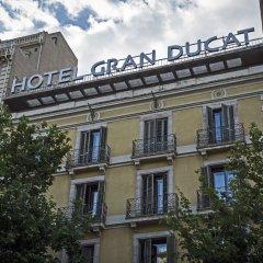 Отель BCN Urban Hotels Gran Ducat Испания, Барселона - 5 отзывов об отеле, цены и фото номеров - забронировать отель BCN Urban Hotels Gran Ducat онлайн вид на фасад фото 2
