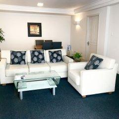 Апартаменты Downtown Retro Serviced Apartment Хошимин комната для гостей