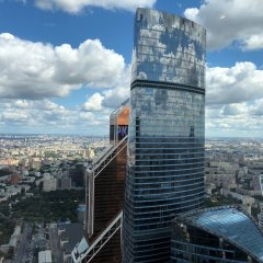 Апартаменты Apartments Moscow City2 Москва балкон
