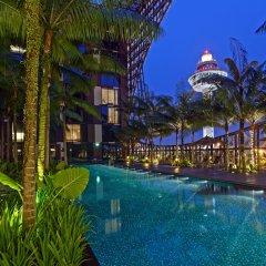 Отель Crowne Plaza Changi Airport бассейн фото 3