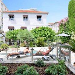 Отель Hôtel La Villa Cannes Croisette Франция, Канны - отзывы, цены и фото номеров - забронировать отель Hôtel La Villa Cannes Croisette онлайн бассейн фото 2
